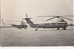 SABENA / HELICOPTERS  S.55 EB S.58  ANNO 1957 - Hélicoptères