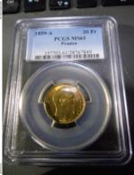 20 Francs Or France 1859 A Ms 61 Pcgs ENVOI GRATUIT - Francia