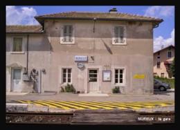 01  NURIEUX  .....  La  Gare - Francia