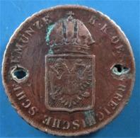 AUTRICHE, 1 Kreuzer Emblème 1816 Vienne, B - Austria