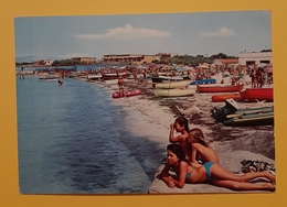 Cartolina Vada ( Livorno ) - La Spiaggia - 1969 - Livorno