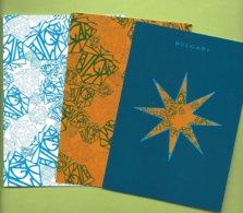 BULGARI * 3  CARDS * V/R * DUTY FREE * - Cartes Parfumées