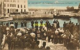 17 Ile De Ré, St Martin, Embarquement Des Forçats Pour La Guyane - Ile De Ré