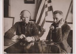 NEW PHONE FOR US SIGNAL CORPS USA +- 20*15CMFonds Victor FORBIN (1864-1947) - Guerra, Militares