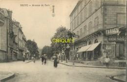 19 Brive, Avenue De Paris, Commerces, Tabac, Mercerie...., Visuel Pas Courant - Brive La Gaillarde