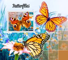 Sierra Leone 2019  Fauna  Butterflies S201910 - Sierra Leona (1961-...)