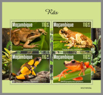 MOZAMBIQUE 2019 MNH Frogs Frösche Grenouilles M/S - OFFICIAL ISSUE - DH1945 - Frogs