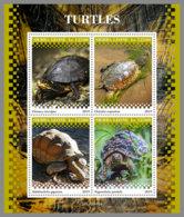 SIERRA LEONE 2019 MNH Turtles Schildkröten Tortues M/S - IMPERFORATED - DH1945 - Turtles