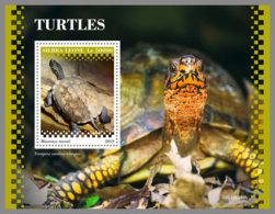 SIERRA LEONE 2019 MNH Turtles Schildkröten Tortues S/S - IMPERFORATED - DH1945 - Turtles