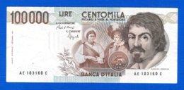 Italie  100.000 Lire - [ 2] 1946-… Republik