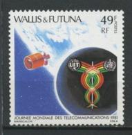 WALLIS FUTUNA 1981 N° 265 ** Neuf MNH Superbe C 1.85 € Télécommunications Espace Space Santé Caducée Médecine - Wallis-Et-Futuna