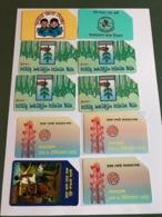 Bangladesh - Small Lot With 10 Different Phonecards - Bangladesh