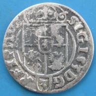 POLOGNE,  Sigismond III Vasa 1/24 De Thaler (ou Poltorak Koronny Ou Trois Polker) 1623, Cracovie, TTB - Polen