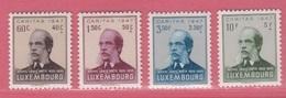 1947 ** (sans Charn., MNH, Postfrisch)  Yv  402/5Mi  427/30 - Nuevos