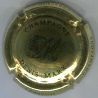 CAPSULE-CHAMPAGNE MARX Denis N°15 Or & Noir - Autres