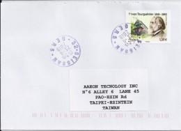 TP N° 5283 SUR LETTRE DE 2018 POUR TAIWAN - Postmark Collection (Covers)