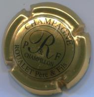 CAPSULE-CHAMPAGNE ROUALET P. &  F. N°01 Or Brillant & Noir - Autres