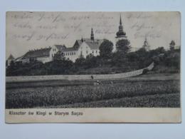 Poland Polsko F3 Stary Sacz Feldpost 1910 - Polen