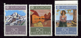 Suisse ** N° 980 à 982 - Europa - Année 1975 - Europa-CEPT