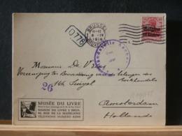 A11/677  CP POUR LA HOLLANDE CENSURE AACHEN 1916 - WW I