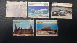 COTE D'IVOIRE IVORY COAST 2018- ANNIV. DIPLOMATIC RELATION RELATIONS DIPLOMATIQUES CHINA CHINE - RARE - FULL SET - MNH - Costa D'Avorio (1960-...)
