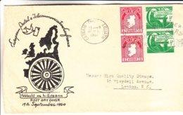 Irlande - Lettre De 1961 - Oblit Carraig Ch... Cliath - Exp Vers London - 1949-... Repubblica D'Irlanda