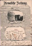 ! Alte Ansichtskarte, Revalsche Zeitung, Reval, Tallinn, 1903, Estland - Estland