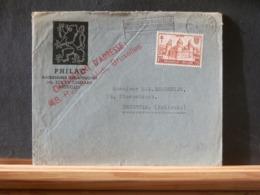 A11/680  LETTRE  POUR LA HOLLANDE 1952 - België