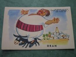 """Le M'Zab Au Sud, Mais Au """"centre"""" Les Vues De: ORAN (carte à Système 10 Vues) - Oran"""
