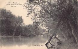 France 92 Hauts De Seine  Asnières Sur Seine  Un Des Bras De La Seine   Les Iles  Le Pont         Barry 836 - Asnieres Sur Seine
