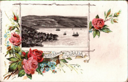 ! Alte Litho Ansichtskarte Gruss Aus Abbazia, Verlag Carl Otto Hayd, München, No. 6a - Croatia