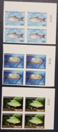 IVORY COAST COTE D'IVOIRE 1999 - IMPERF NUMBER BLOCK BLOC ND - FISHES FISH POISSONS POISSON MARINE LIFE FAUNA - RARE MNH - Costa D'Avorio (1960-...)