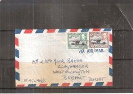 Cover From Uganda To England - 1952 - Royal Visit (to See) - Kenya, Uganda & Tanganyika