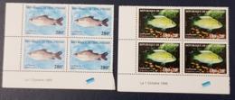 IVORY COAST COTE D'IVOIRE 1999 - SHORT SET 2/3 - BLOCK BLOC - FISHES FISH POISSONS POISSON MARINE LIFE FAUNA - MNH - Costa D'Avorio (1960-...)
