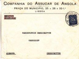Portugal - Lettre De 1948 ? - Oblit Lisboa - Exp Vers Oberschmitten - - 1910-... Republik