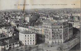 CPA De VINCENNES - L 'Avenue Du Polygone Et Vue Générale De Vincennes - Vincennes