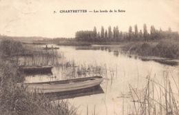 France 77 Seine Et Marne   Chartrettes Les Bords De La Seine Bateaux        Barry 842 - Frankrijk