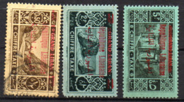 Col17  Colonie Grand Liban Taxe  N° 26 à 28 Neuf X MH & Oblitéré Cote 19,00 € - Groot-Libanon (1924-1945)