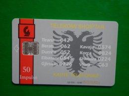 Télécarte Albanie, 10/96 100 000ex Utilisé Bon état, Traces - Albanien