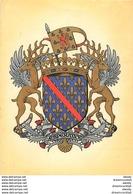 WW Cpa Cpsm 03 BOURBONNAIS. Ecusson Héraldique Armoiries Blason - Moulins