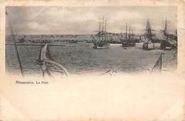 Egypt Alexandria Le Port, Harbour, Boats - Cartes Postales