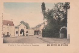 Les Environs De Bruxelles.L'Entrée Du Parc Sur La Place De Tervueren.  Nels Couleurs Série 11 N°23---scan - Tervuren