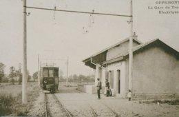 Offemont (90) La Gare Du Tramway Electrique - Offemont