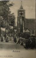 Meliskerke (Zld.) In Het Dorp Met Veel Volk // Met Zeldzame KR Stempel 1907 - Sonstige