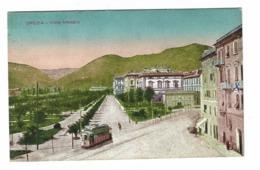 1179 - LA SPEZIA VIALE MAZZINI ANIMATA TRAM  1920 CIRCA - La Spezia