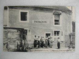 ORVEAU - L'épicerie Café Parachini (animée) - Marchands