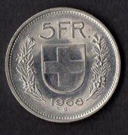 SUISSE :  MONNAIE  5  FRANCS  1968 , A  SAISIR . - Switzerland