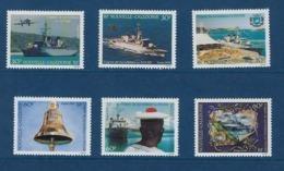 """Nle-Caledonie YT 668 à 673 """" Frégate De Surveillance """" 1994 Neuf** - New Caledonia"""