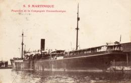 S.S.MARTINIQUE - Paquebots