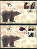 ROMANIA 2008 - Orsi / Bears - 2 FDC, Come Da Scansione. - Bears